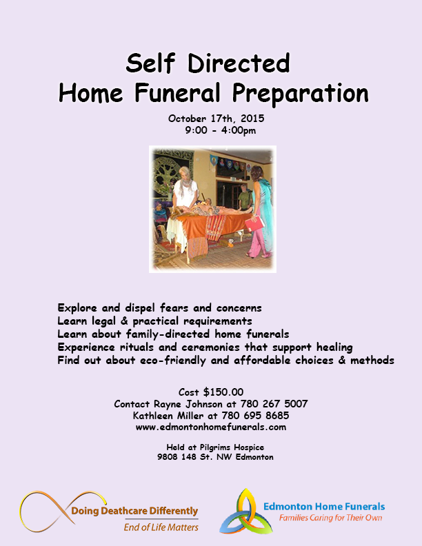 Home Funeral Poster for online